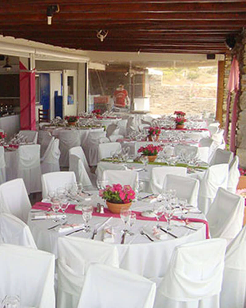 Events and Weddings at Perigiali Antiparos
